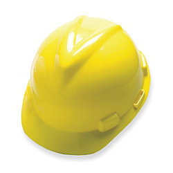 Yellow MSA-Approved Hard Hat